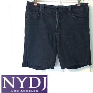 NYDJ Jean Shorts sz 10 Blue Denim Stretch
